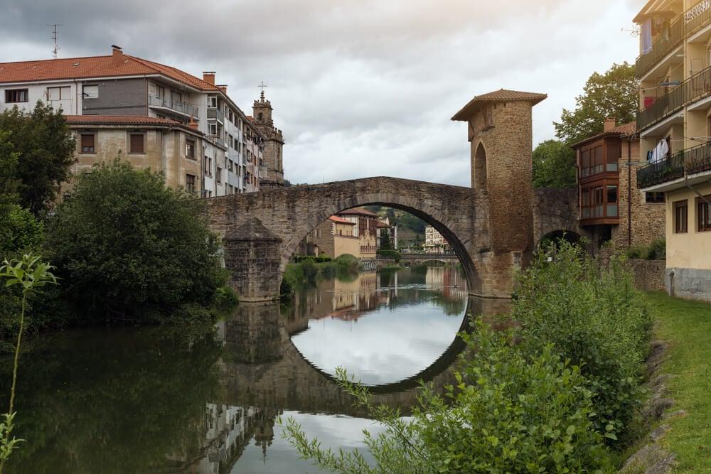 Puente de Balmaseda en Vizcaya