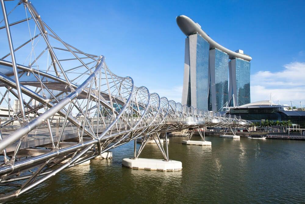 Puentes fabulosos: Helix Bridge