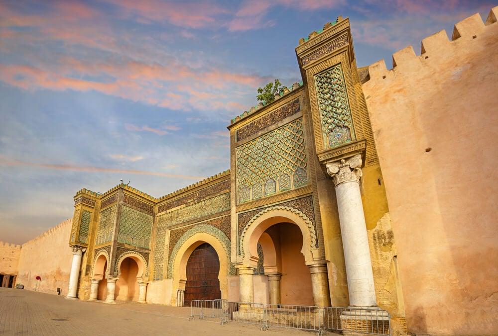 Puerta de Bab el-Mansour en Maequínez