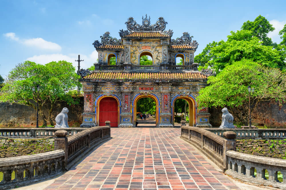 Puerta del Este en Hue