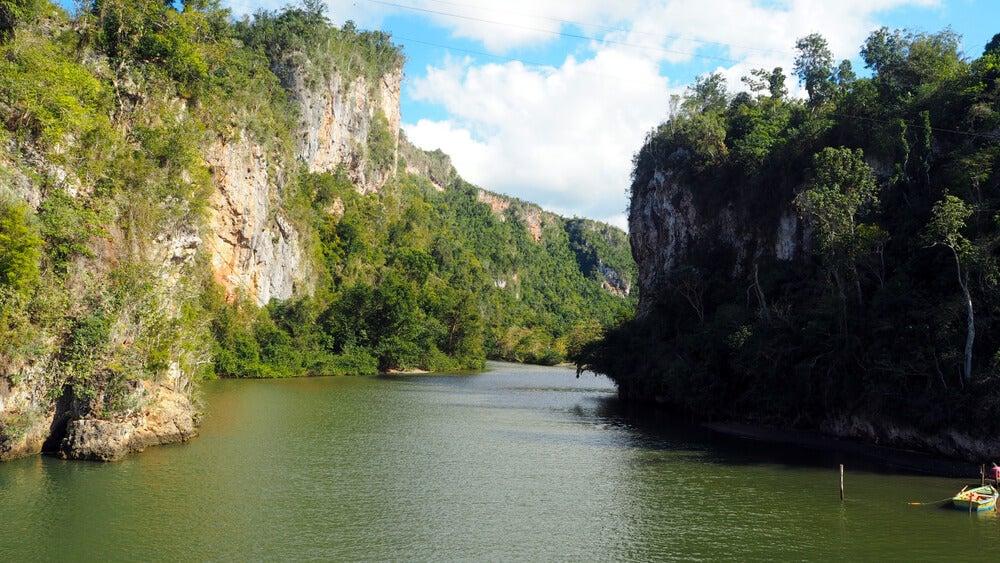 Río Yumurí en Guantánamo