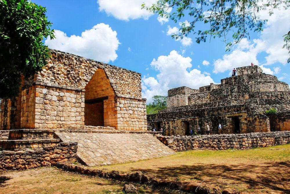 Ruinas de la ciudad maya de Cobá