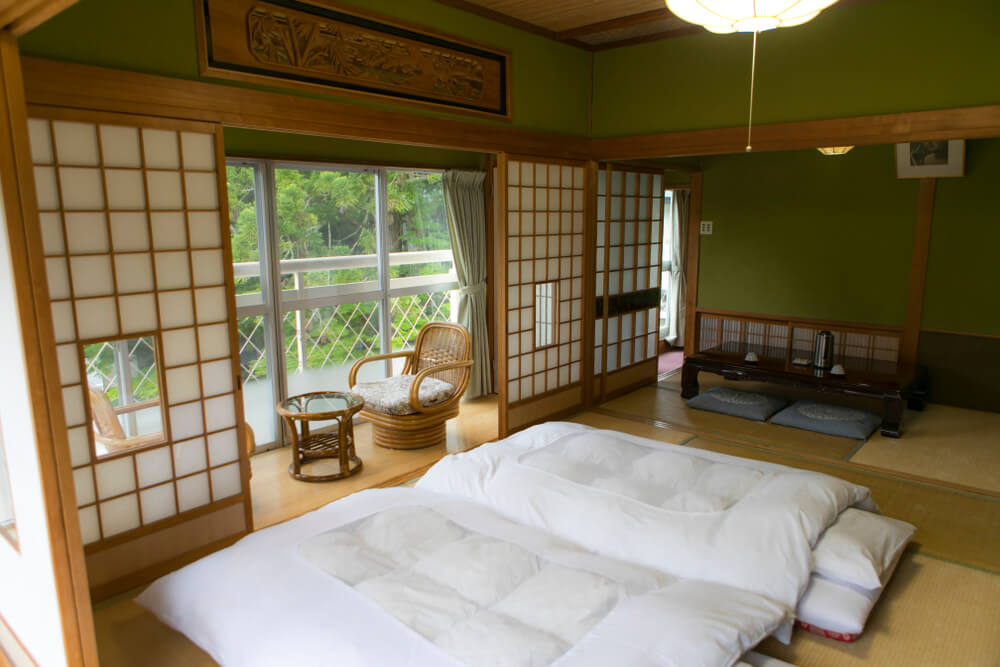 Ryokan tradicional para vivir Japón en pareja