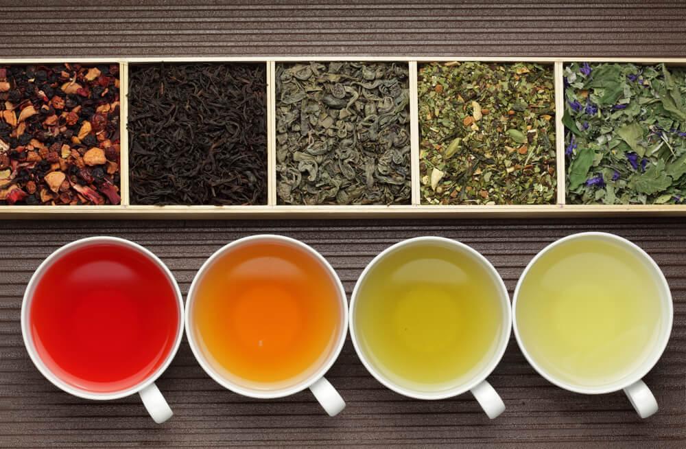 Diferentes tipos de buen té