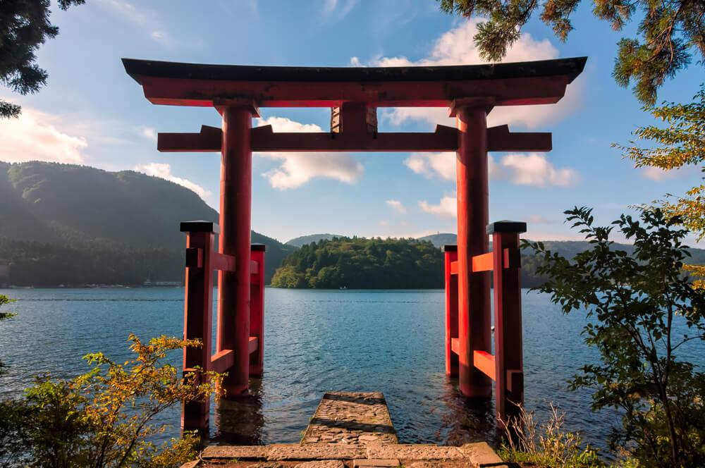 Torii del santuario de Hakone