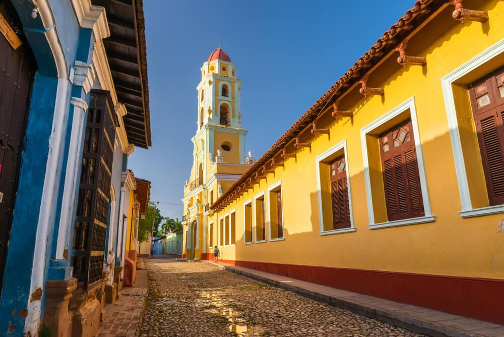 Calle de Trinidad en Cuba