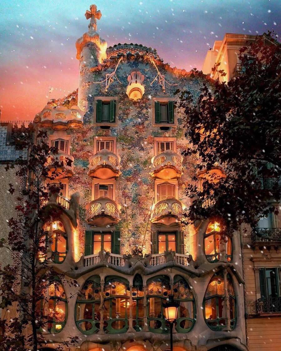 Exterior de la Casa Batlló