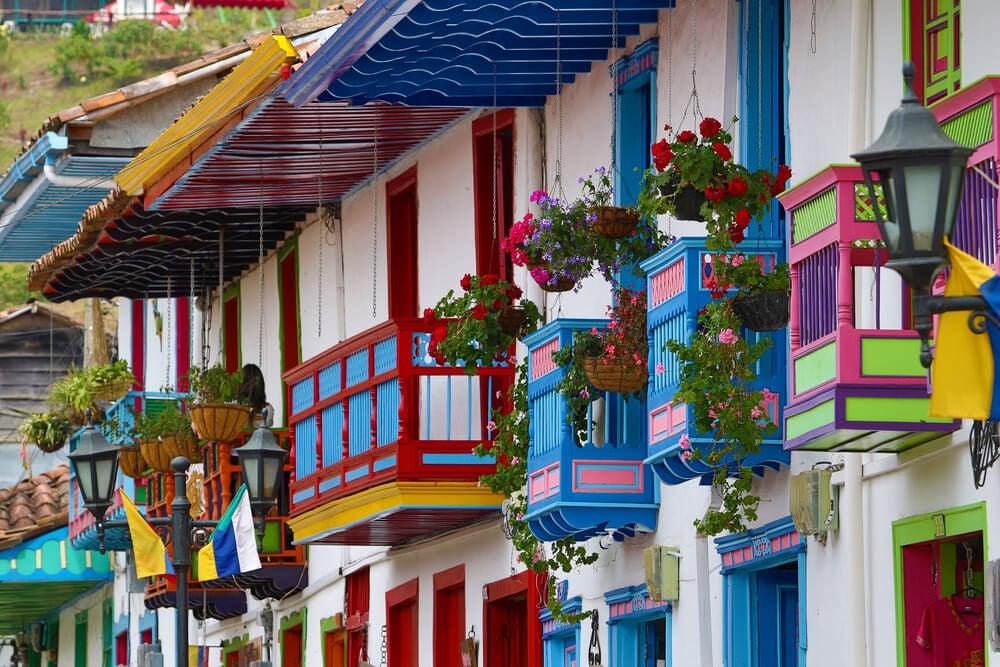 Balcones en Salento