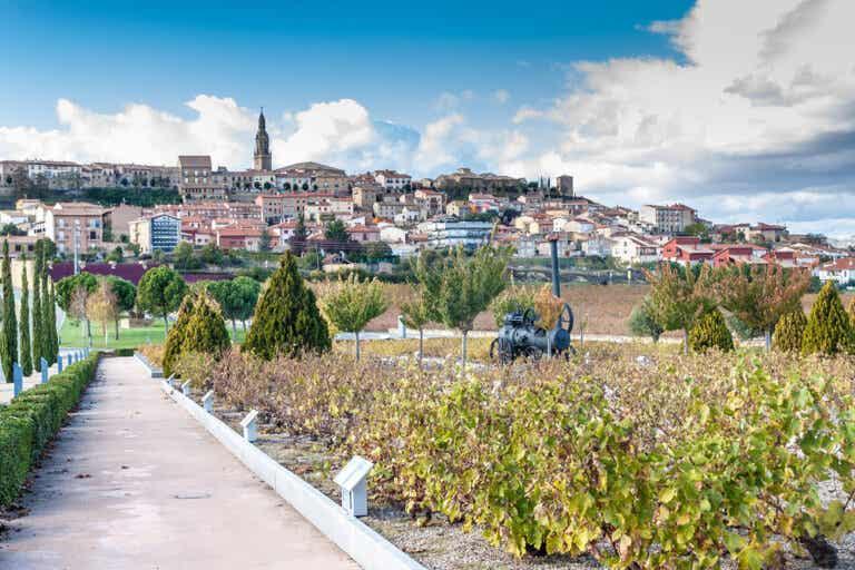 De turismo por Briones, en La Rioja