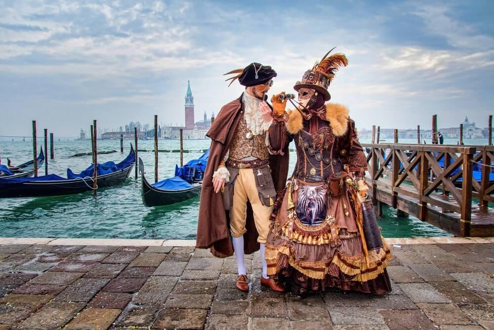 Disfruta del Carnaval de Venecia en Italia