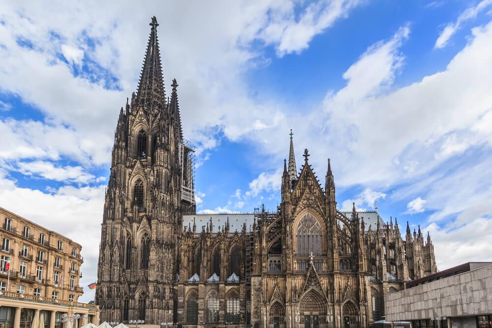 Catedral de Colonia, una de las iglesias más espectaculares