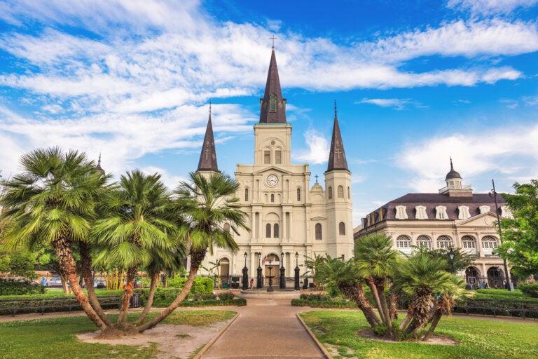 Catedral de San Luis de Nueva Orleans, ¡espectacular!