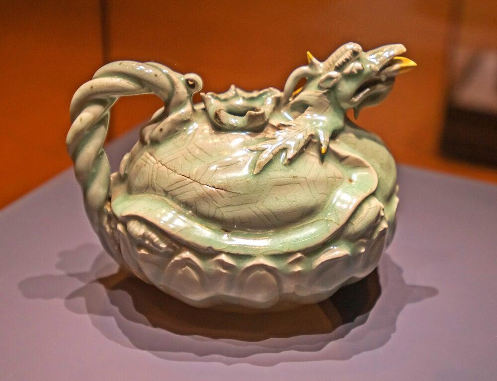 Celadón típico del arte coreano
