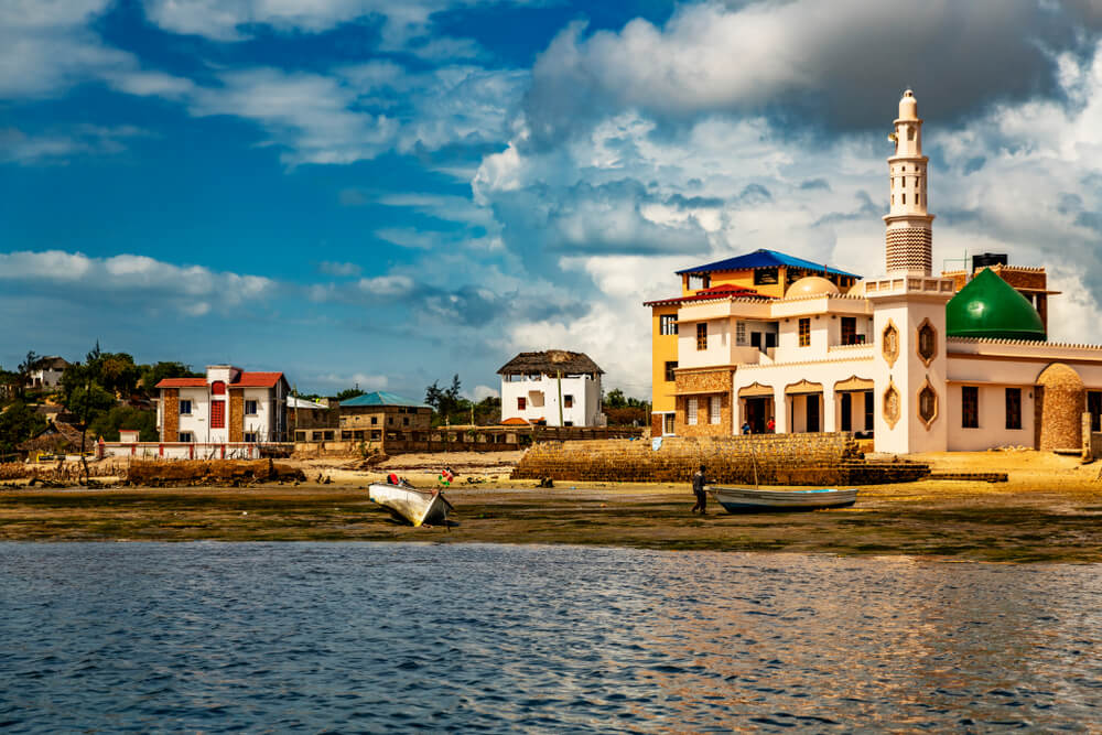 Vista de la ciudad de Lamu