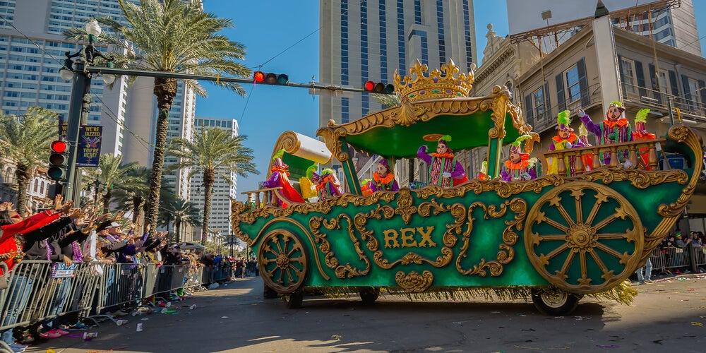 Desfile de Mardi Gras