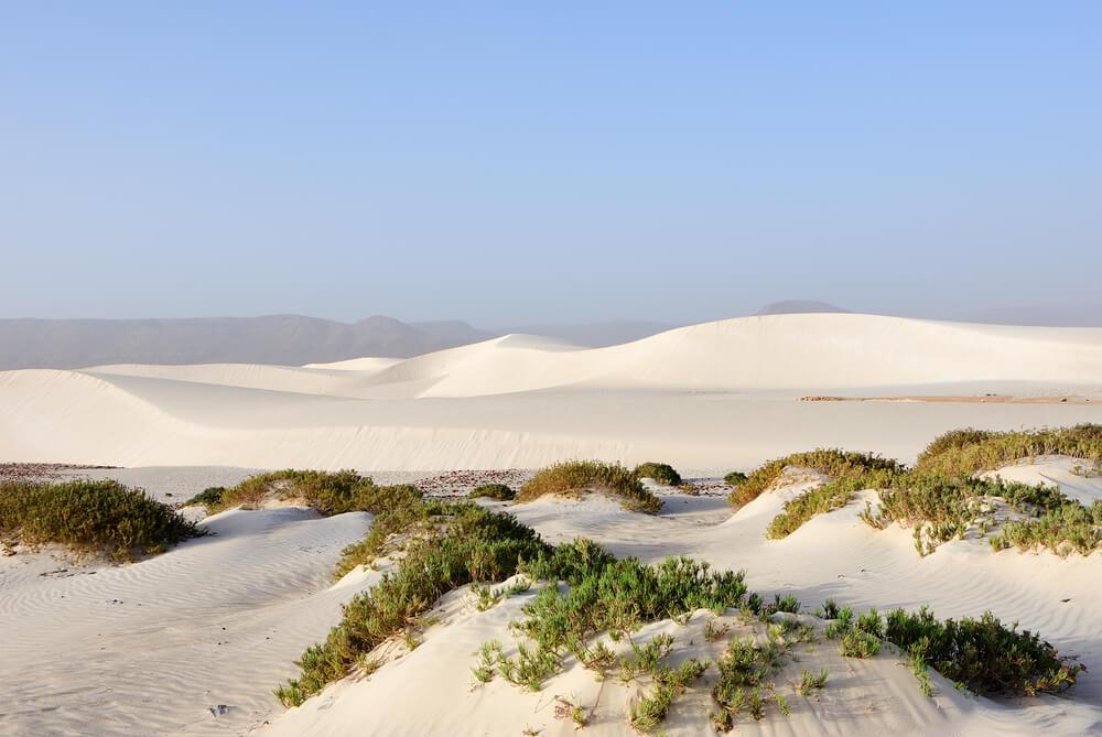 Dunas en Socotra