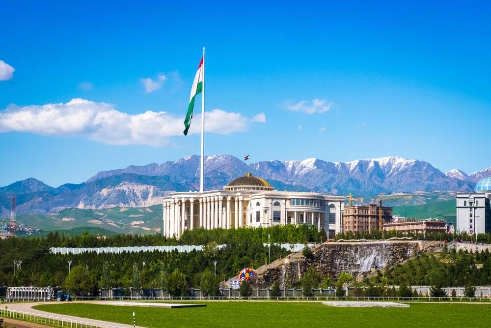 Dusambé, capital de Tayikistán