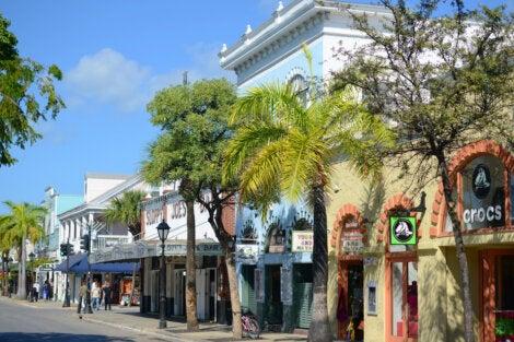 Duval Street en Cayo hueso