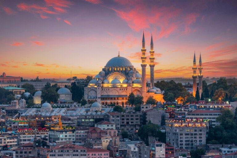 Dónde ver las mejores puestas de sol en Estambul
