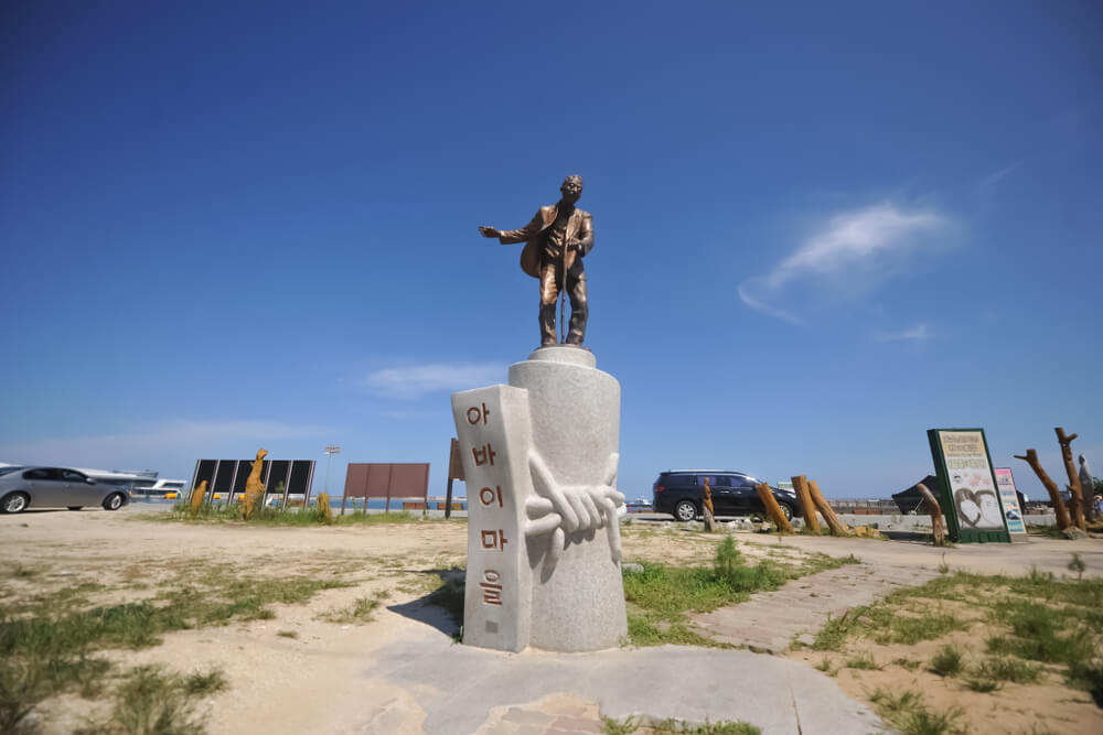 Estatua en Abai