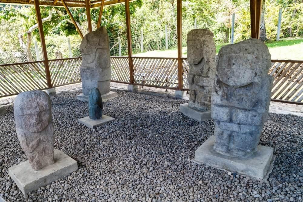 Estatuas en Tierradentro
