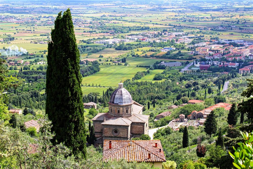 Iglesia de Santa Maria delle Grazie en Calcinaio