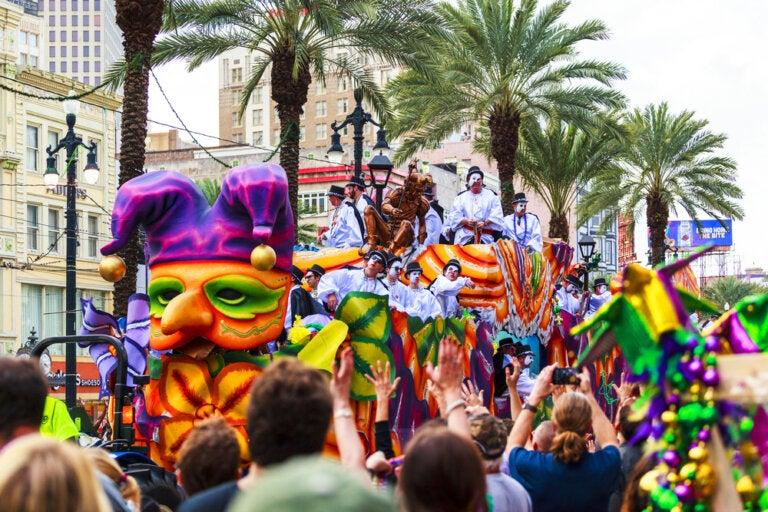 Mardi Gras de Nueva Orleans: un carnaval singular