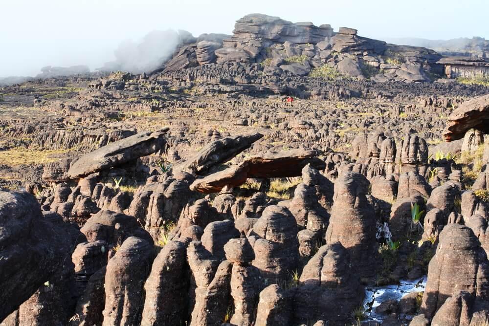 Meseta rocosa en el monte Roraima