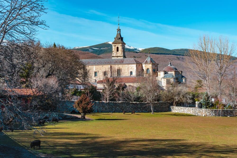 Monasterio de Santa María de El Paular en la Sierra Norte de Madrid