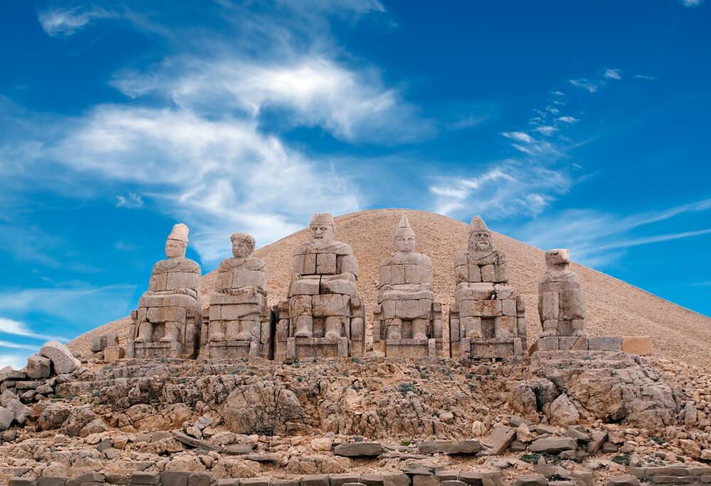 El monte Nemrut y sus singulares estatuas