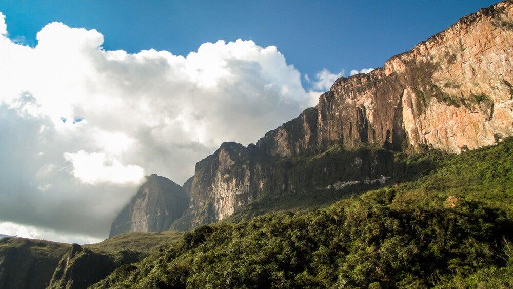 Paisaje del monte Roraima