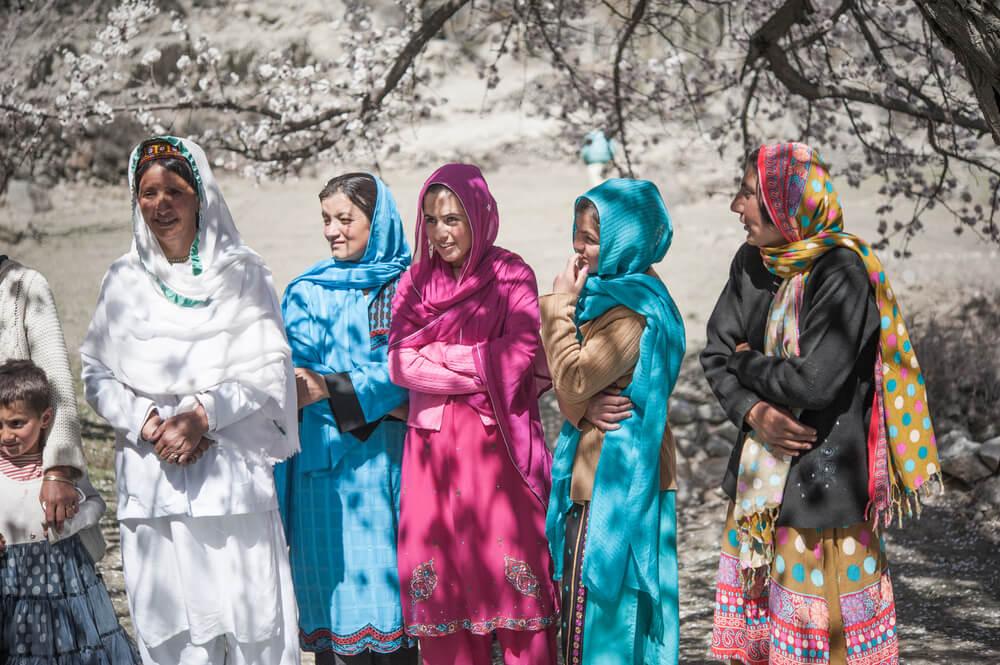 Mujeres del valle de Hunza