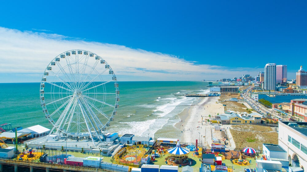 Parque de atracciones en Atlantic City