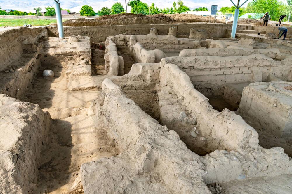 Ruinas de Penjikent
