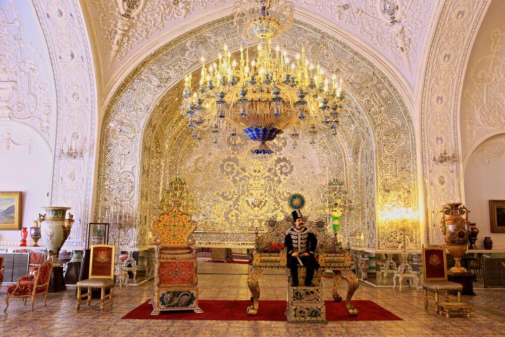 Salón del palacio de Golestán
