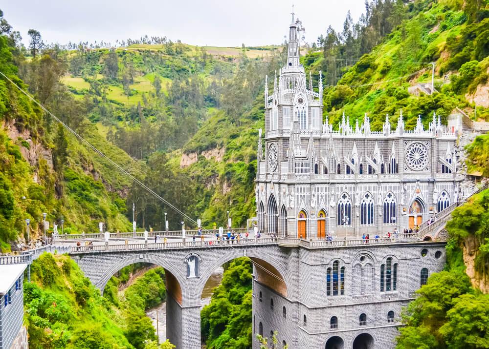 Santuario de las Lajas, una de las iglesias más espectaculares del mundo