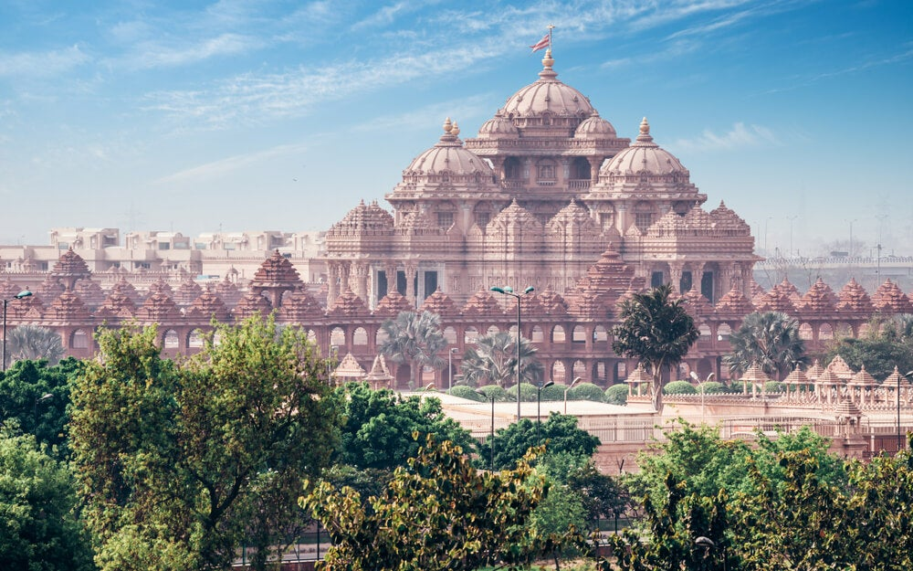 Akshardham: un templo fabuloso en Nueva Delhi