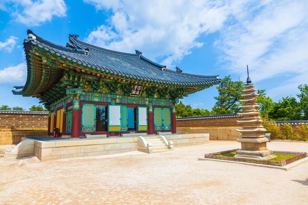 templo Naksansa en Gangwon-do