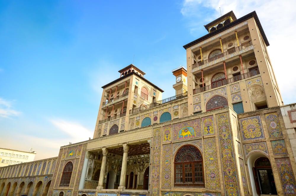 Torres del palacio de Golestán