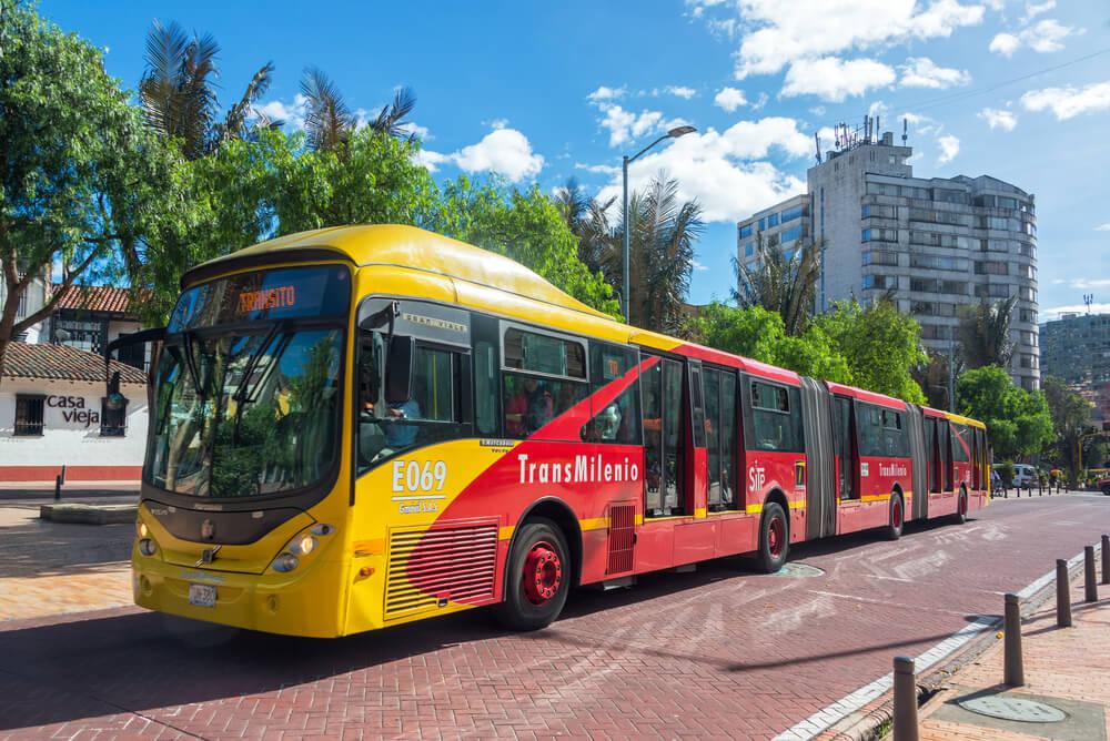 Transmilenio, unod e los transportes en Bogotá