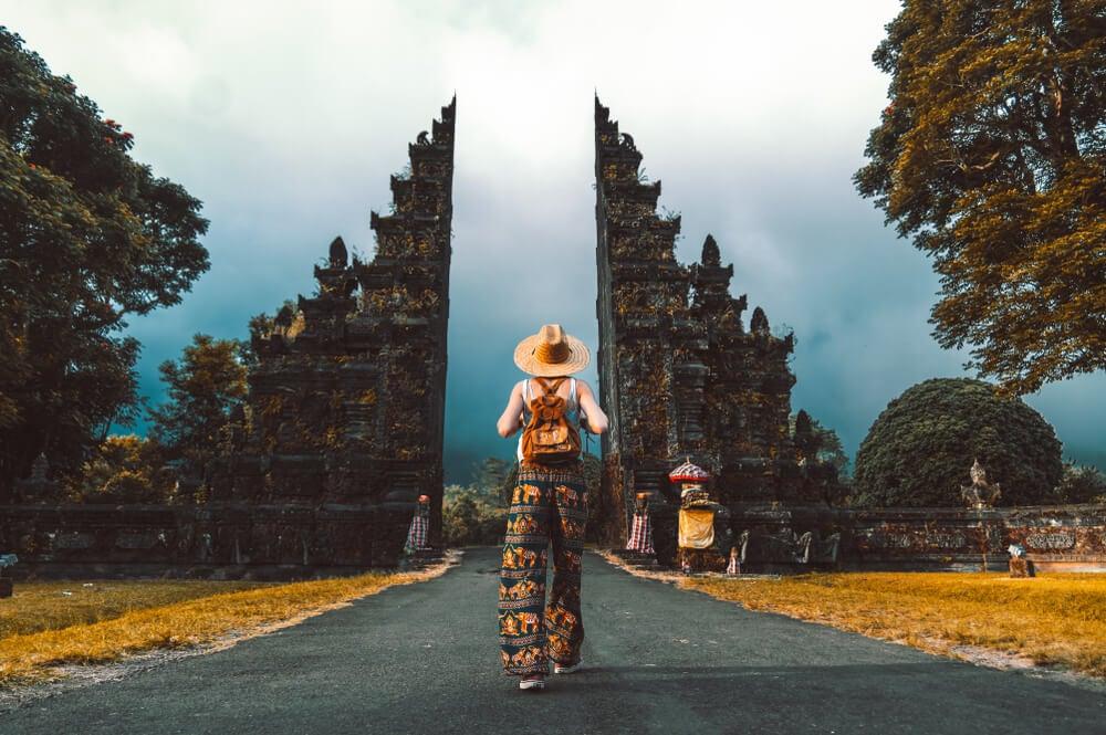 Viajera en Indonesia