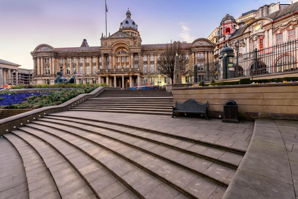 Victiria Square en Birmingham