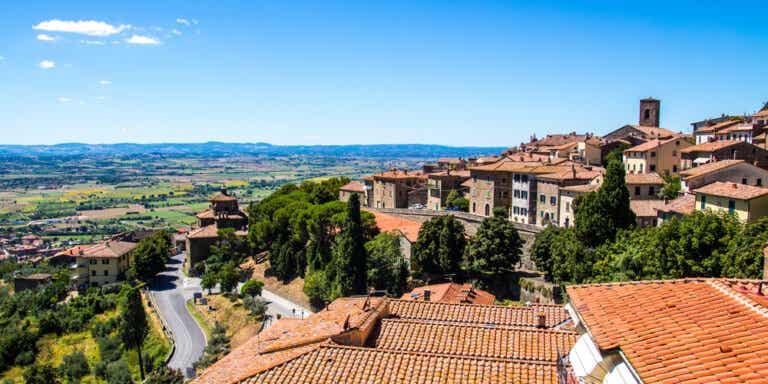 Cortona, un precioso pueblo en la Toscana