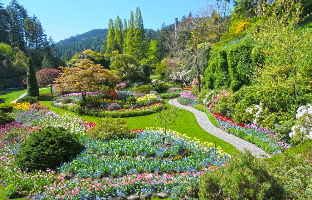Vista de los Jardines Butchart