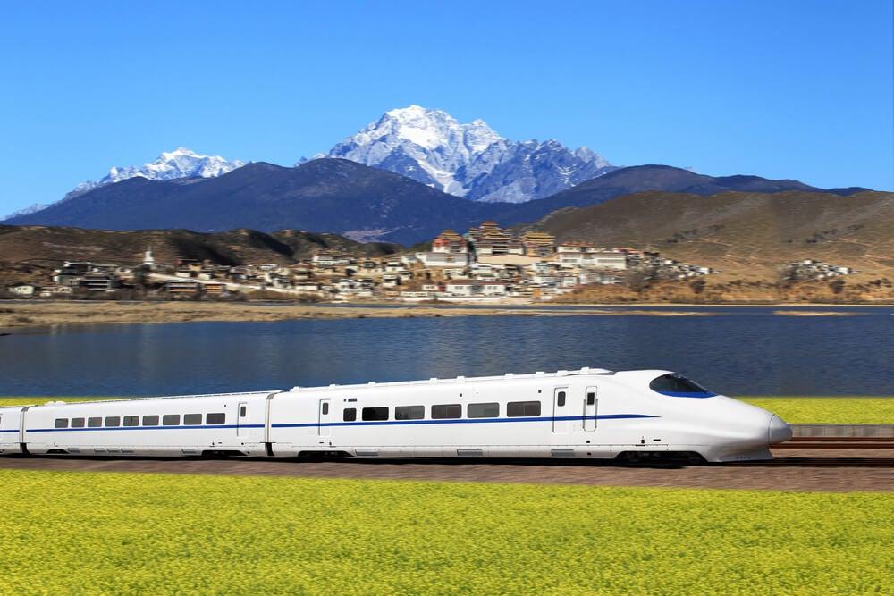 Tren de alta velocidad en China