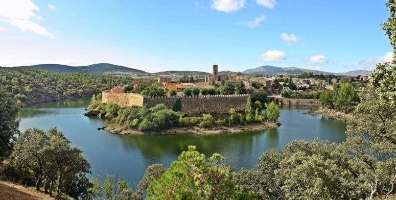 Buitrago del Lozoya en la Sierra Norte de Madrid