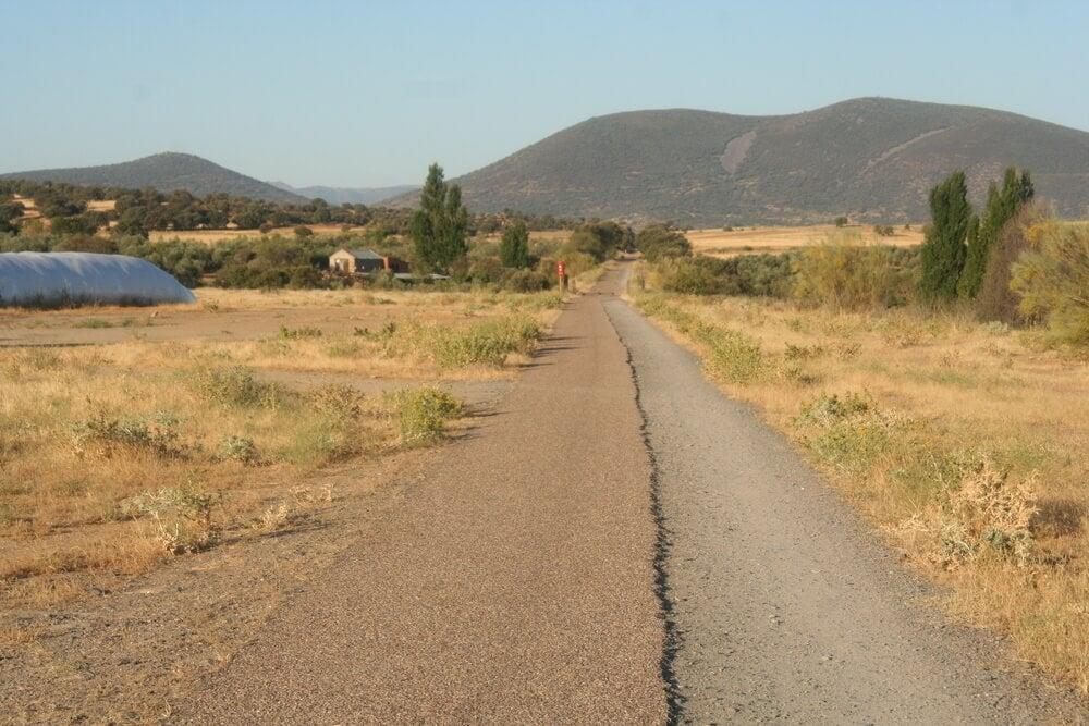 Vía verde en Calera y Chozas
