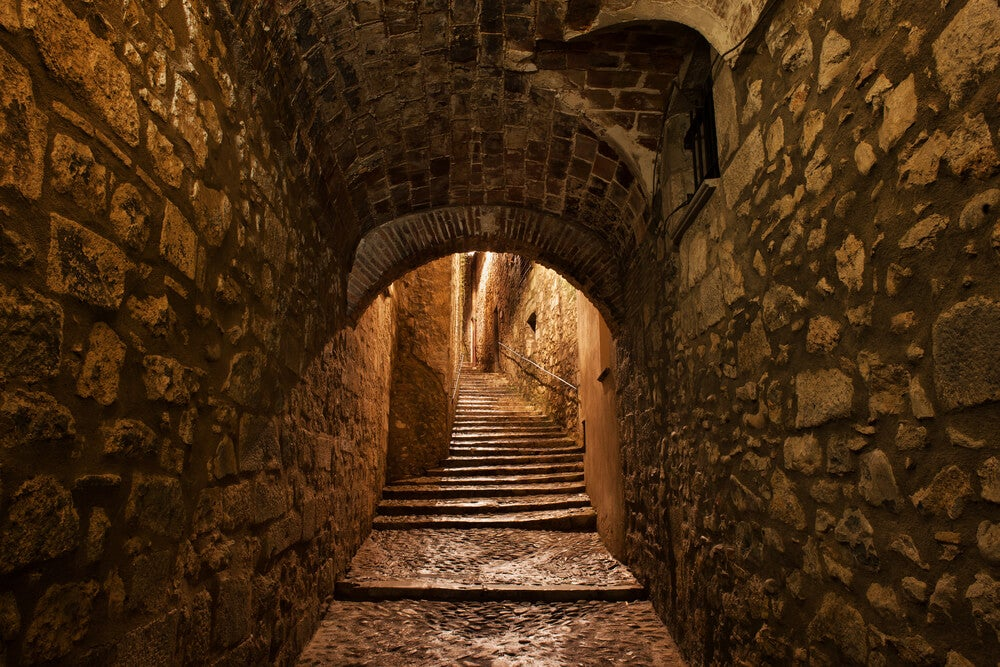 Pasaje en el Call de Girona