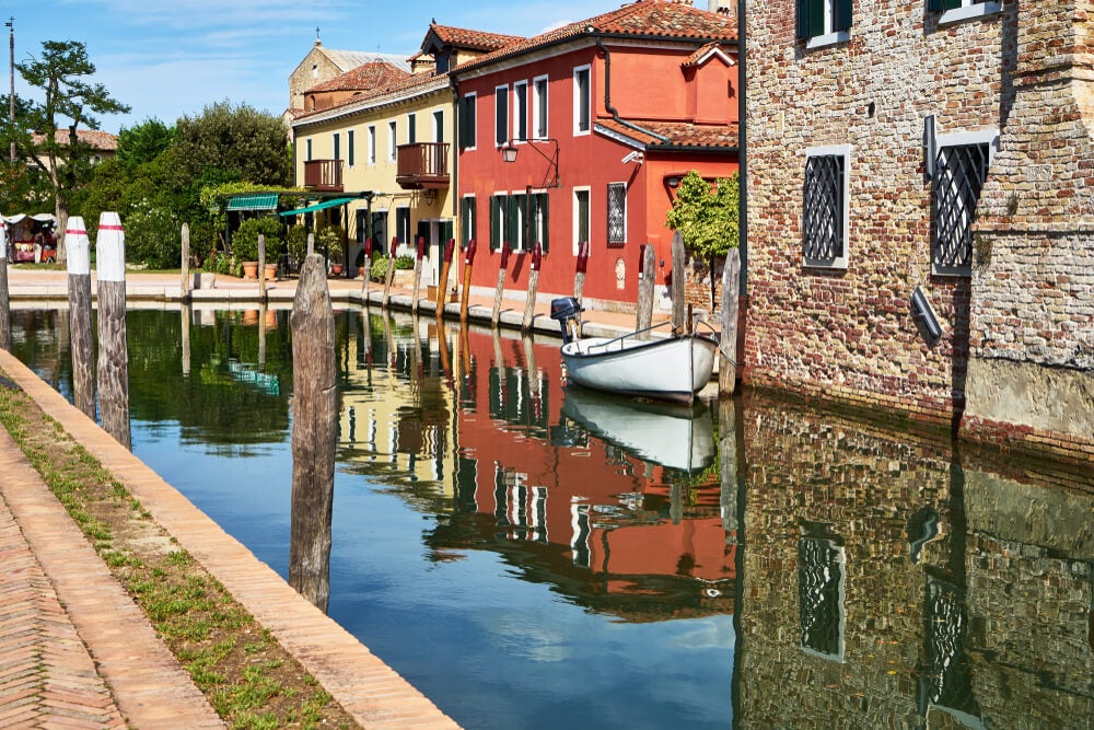 Canal en Torcello