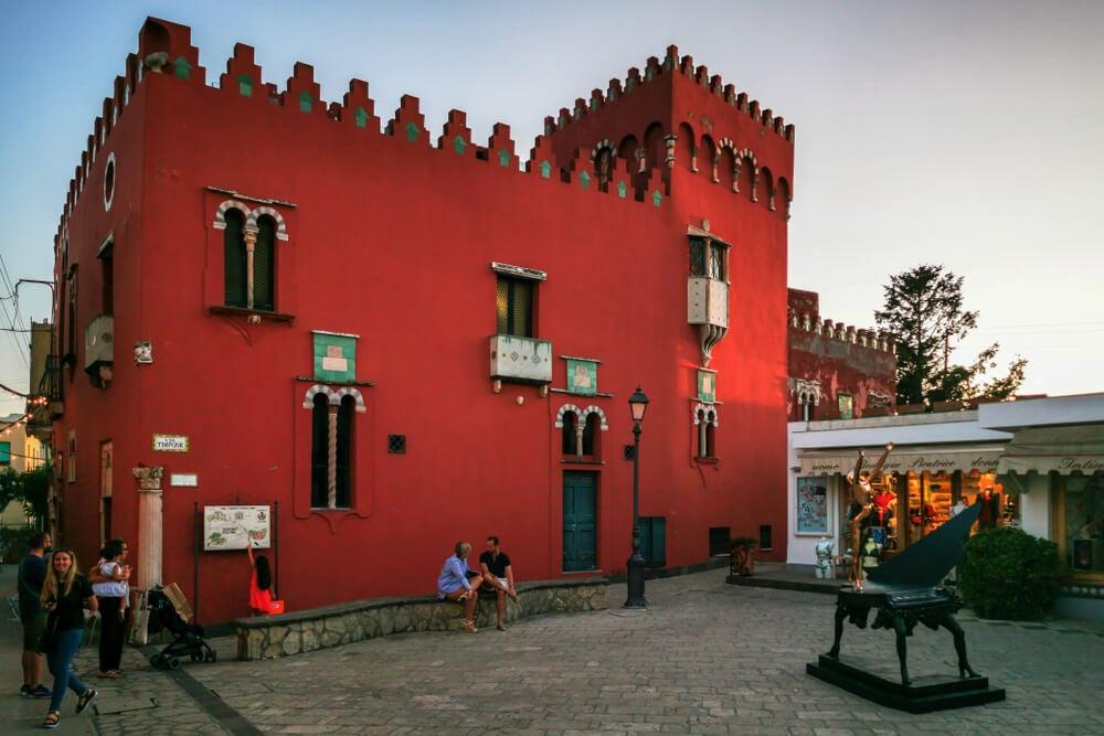Casa Rossa en Anacapri
